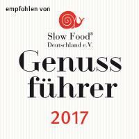 Empfohlen von Slow-Food, der Genussführer 2017